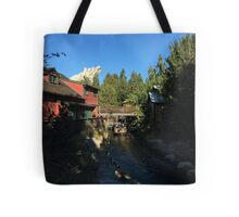 Grizzly water Tote Bag