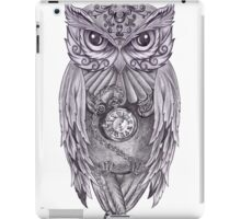 Time Flies With The Owls iPad Case/Skin