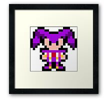 Pixel NiGHTS Framed Print