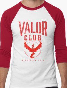 Team Valor Club World Wide Men's Baseball ¾ T-Shirt