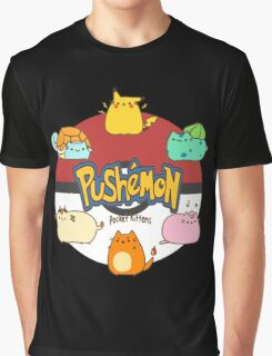 Pushemon Graphic T-Shirt