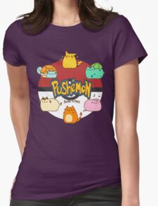 Pushemon Womens Fitted T-Shirt