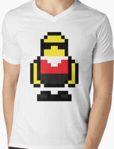 Pixel Robo Bonanza Mens V-Neck T-Shirt