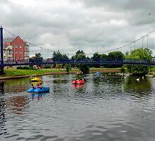 Exeter Quays 2 by lynn carter