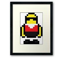 Pixel Robo Bonanza Framed Print