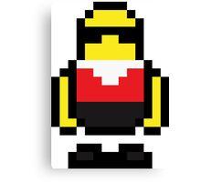 Pixel Robo Bonanza Canvas Print