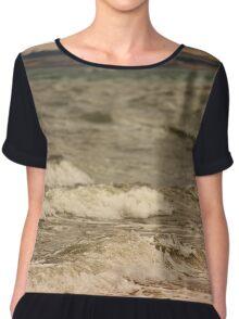 Beach Waves Phillip Island Chiffon Top