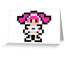 Pixel Ulala Greeting Card