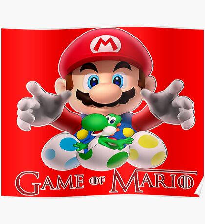 GAME OF MARIO Poster