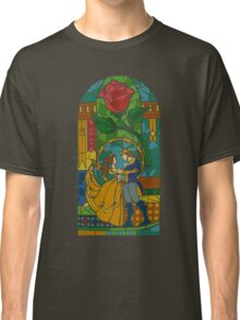 Beauty and The Beast - Stained Glass Classic T-Shirt