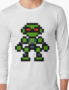 Pixel Vectorman Long Sleeve T-Shirt