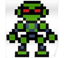Pixel Vectorman Poster