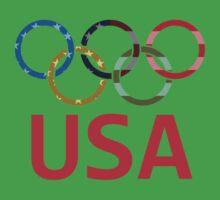 USA Olympic Baby Tee