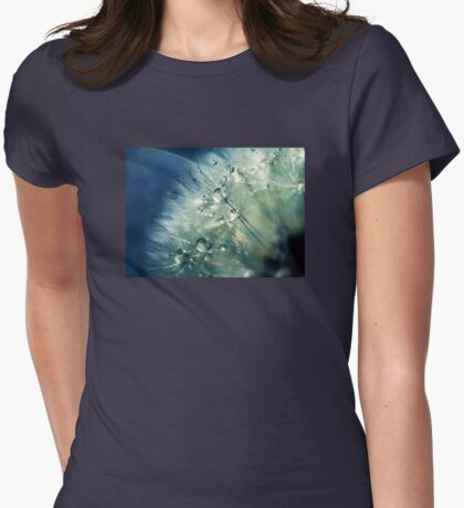 Dandelion Drama Womens Fitted T-Shirt