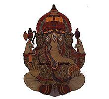 Ganesha - Hindu God Photographic Print