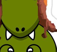 A Dinosaur in Jayne's Hat - Firefly Sticker