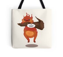 Calcifer Tote Bag