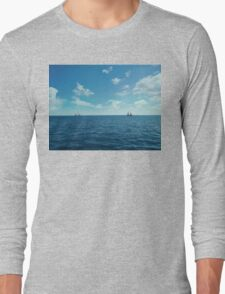 floating 1 Long Sleeve T-Shirt