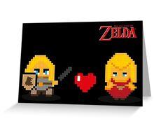 Jaime and Cersei - Zelda Greeting Card