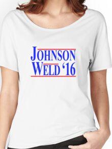 Gary Johnson Bill Weld 2016 - Libertarian Women's Relaxed Fit T-Shirt