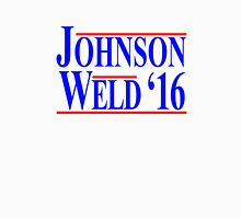 Gary Johnson Bill Weld 2016 - Libertarian Unisex T-Shirt