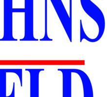 Gary Johnson Bill Weld 2016 - Libertarian Sticker