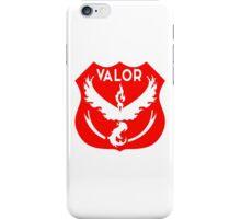 Team Valor - Pokemon Go - Territorial Badge iPhone Case/Skin