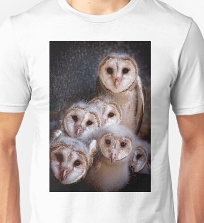 Barn Owls Unisex T-Shirt