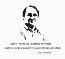 Linux - Linus Torvalds One Piece - Long Sleeve