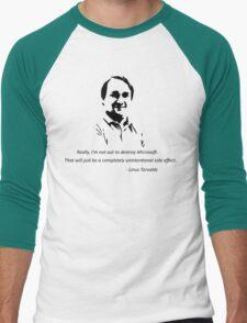 Linux - Linus Torvalds Men's Baseball ¾ T-Shirt
