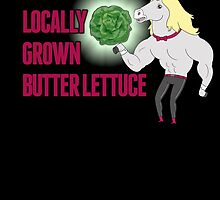 Locally Grown Butter Lettuce by adrianmascena