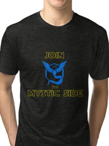 Join The Mystic Side Tri-blend T-Shirt