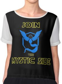 Join The Mystic Side Chiffon Top