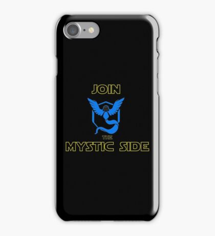 Join The Mystic Side iPhone Case/Skin