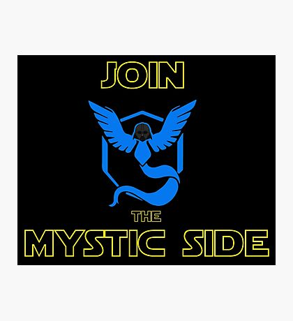 Join The Mystic Side Photographic Print