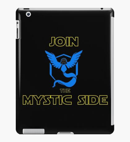 Join The Mystic Side iPad Case/Skin