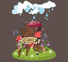 Tree Stump and Fairy Unisex T-Shirt