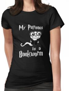 My Patronus Is A Bookworm Womens Fitted T-Shirt