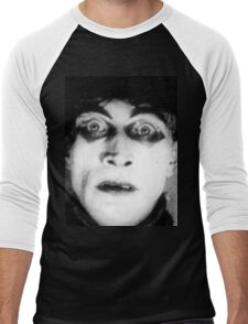 Somnambulist from The Cabinet of Dr Caligari Men's Baseball ¾ T-Shirt