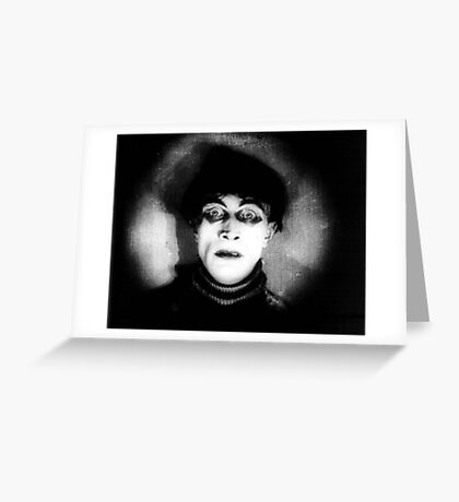 Somnambulist from The Cabinet of Dr Caligari Greeting Card