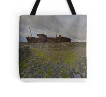 The Plassey - a wrectangular view Tote Bag