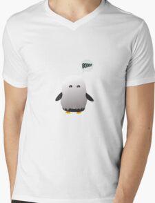 halloween penguin Mens V-Neck T-Shirt