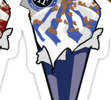 Cornetto Trio Sticker