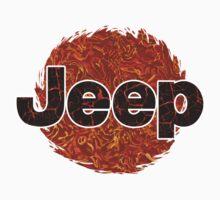 Lava Jeep typograph Baby Tee