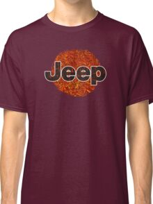 Lava Jeep typograph Classic T-Shirt
