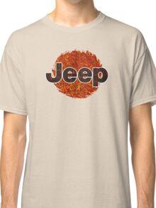 Lava Jeep typograph Classic T-Shirt
