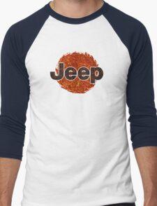 Lava Jeep typograph Men's Baseball ¾ T-Shirt