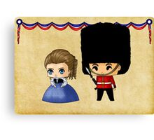 British Chibis Canvas Print