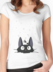 Kiki's Carrier Service Women's Fitted Scoop T-Shirt