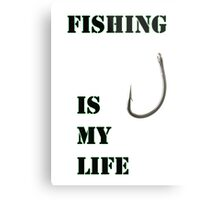 Fishing life Metal Print